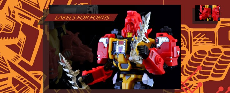 Labels for MMC Fortis