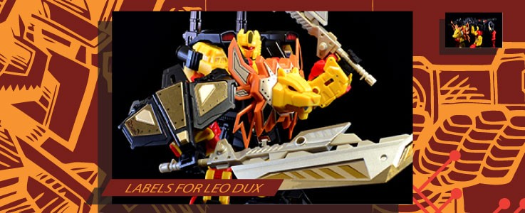 Labels for MMC Leo Dux