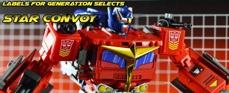 Labels for Gen Selects Star Convoy