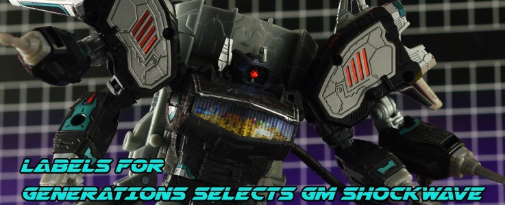 Labels for Gen Selects Galactic Man Shockwave