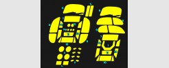 Labels for MP-45 Bumblebee