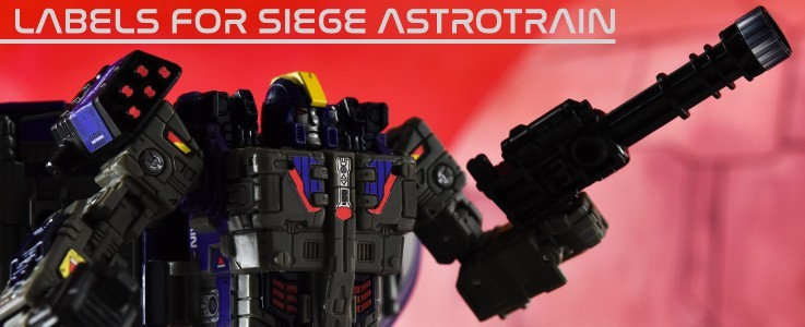 Labels for Siege Astrotrain