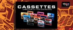 Labels for Cassette Blocks