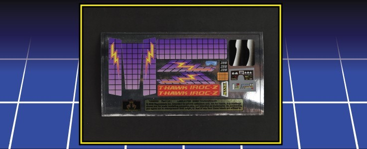 Labels for Thunderhawk