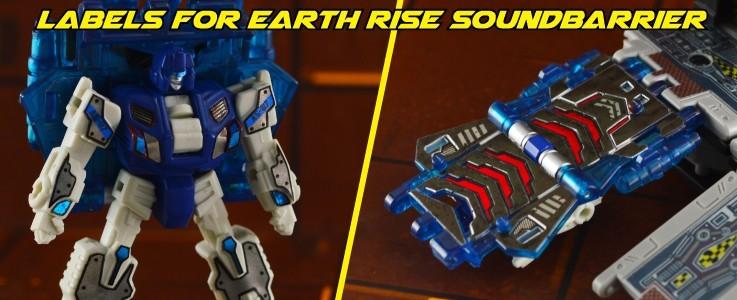 Labels for Earth Rise Soundbarrier