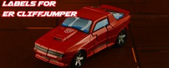 Labels for ER Cliffjumper