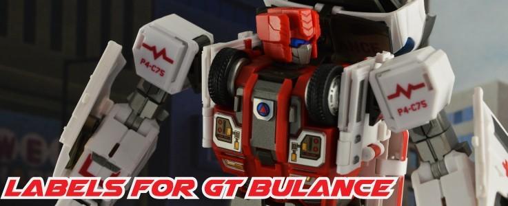 Labels for GT Bulance