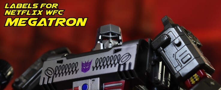 Labels for WFC Netflix Megatron