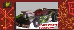 Labels for Space Pirate Lockdown