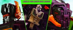 Labels for Earthrise Zarak
