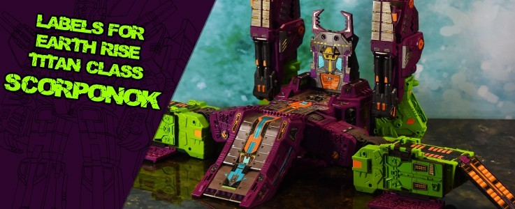 Labels for ER Scorponok