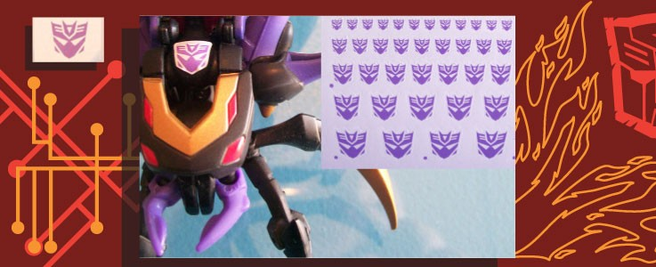 Symbols for Animated Decepticons