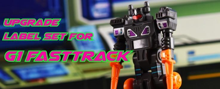 Upgrade Labels for G1 Fasttrack