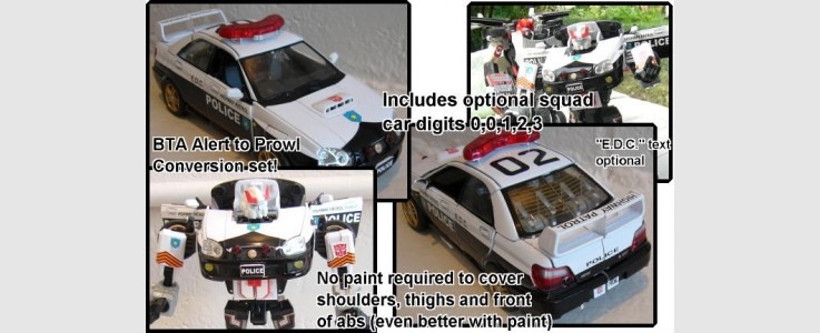 Labels for Prowl (Subaru)