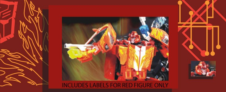 Labels for Hot Rodimus