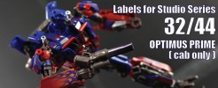 Labels for SS 32/44 Optimus...