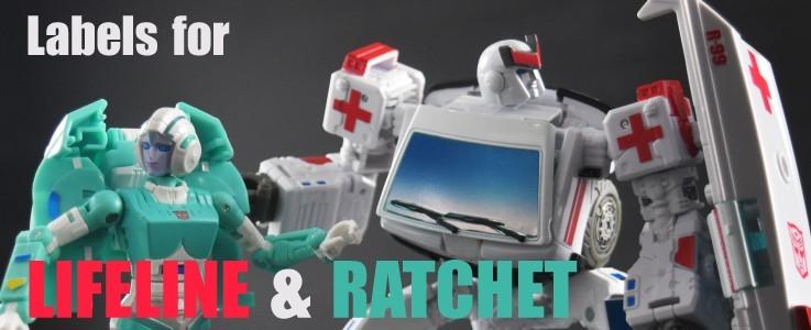 Labels for ER Lifeline and Ratchet