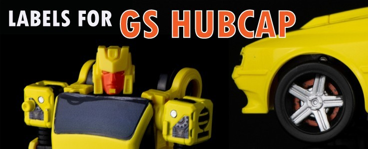 Labels for GS Hubcap