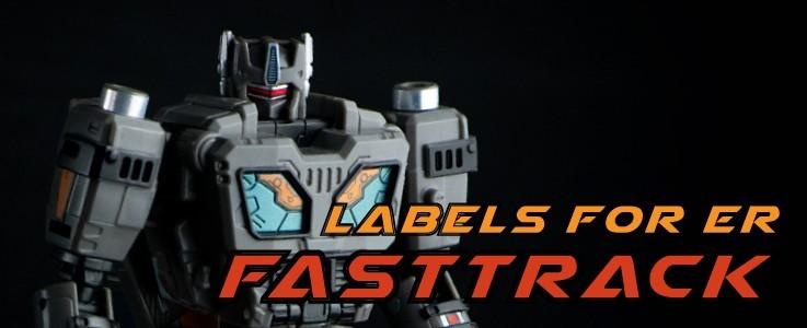 Labels for ER Fasttrack