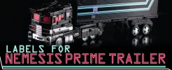 Labels for NF Nemesis Prime...