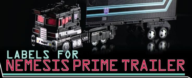 Labels for NF Nemesis Prime Trailer
