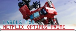 Labels for NF Optimus Prime