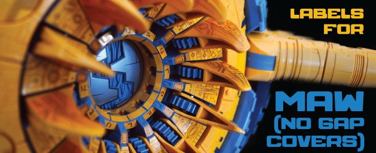 Labels for HL Unicron (MAW) - No Gap Covers