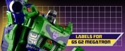 Labels for GS G2 Megatron