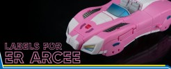 Labels for Earthrise Arcee