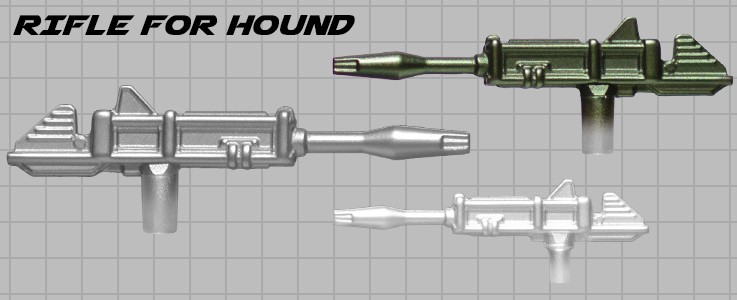 Rifle for Hound