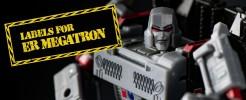 Labels for ER Megatron