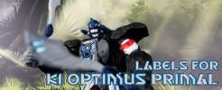 Labels for KI Optimus Primal