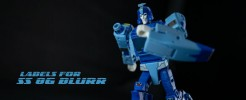 Labels for SS 86 Blurr