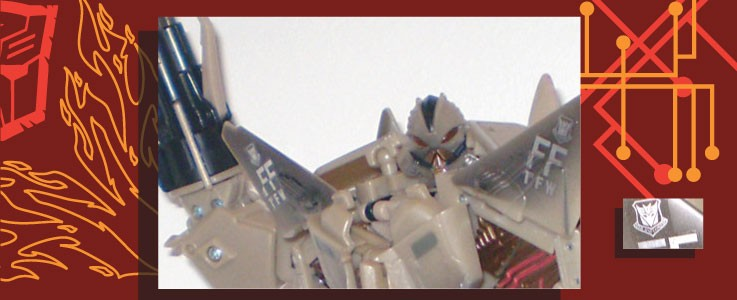Labels for 2007 Starscream