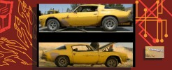 Labels for 2007 Classics Camaro Bumblebee