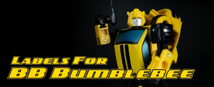Labels for BB Bumblebee