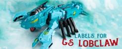 Labels for GS Seacon Lobclaw