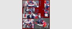 Labels for 2007 Premium Leader Optimus Prime