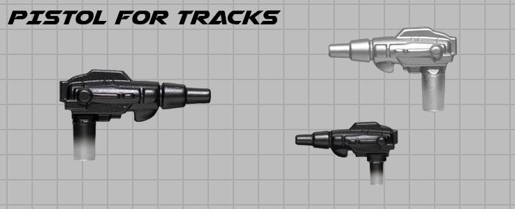 Pistol for Tracks
