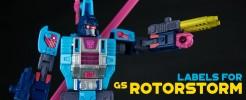 Labels for GS Rotorstorm