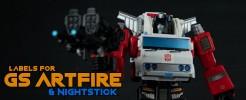 Labels for GS Artfire &...