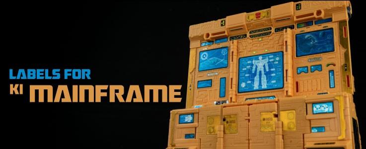 Labels for KI Mainframe