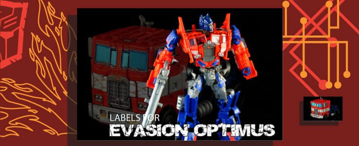 Labels for AoE Evasion Optimus Prime