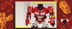 Labels for 2011 RTS Optimus Prime