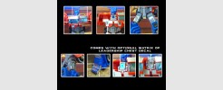 Labels for Generations Optimus Prime