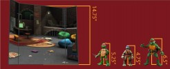 Turtle Pad Cube Shelf (B)