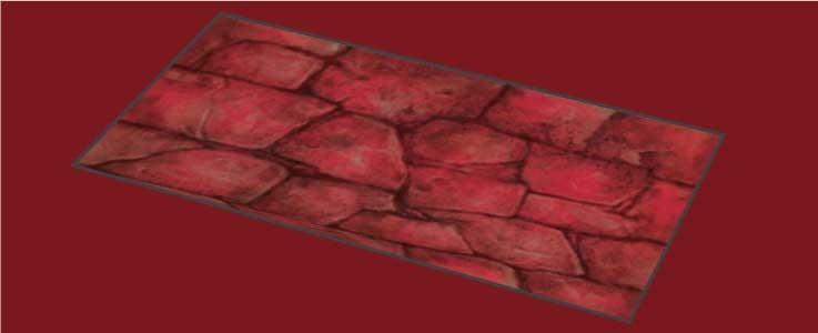 Red Rock Floor Tile