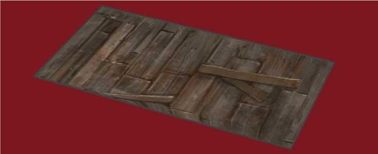 Hardwood Floor Tile