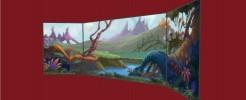 Offworld Jungle Large Trimmed