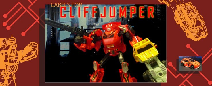 Labels for Generations Cliffjumper